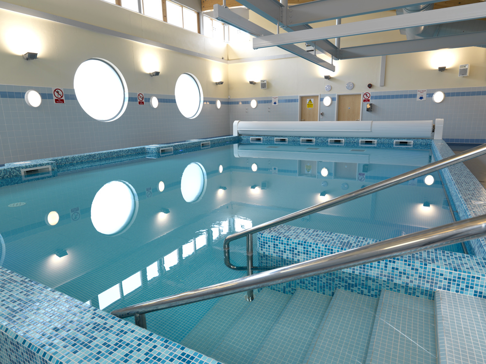 Hydrotherapy pools david hallam ltd uk swimming pool for Pool design standards