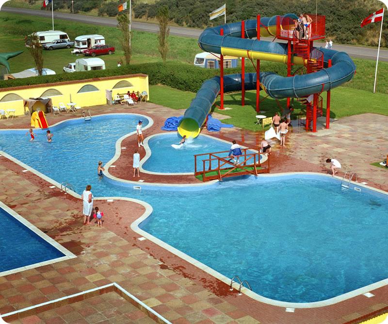 Playful Michigan Pool House: Water Play Equipment