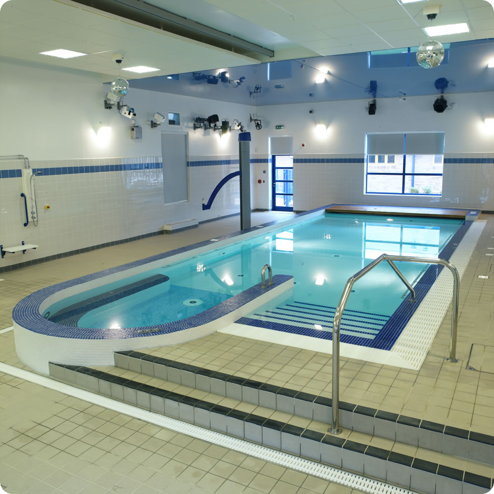 Hydrotherapy Pools | David Hallam Ltd | UK Swimming Pool Design